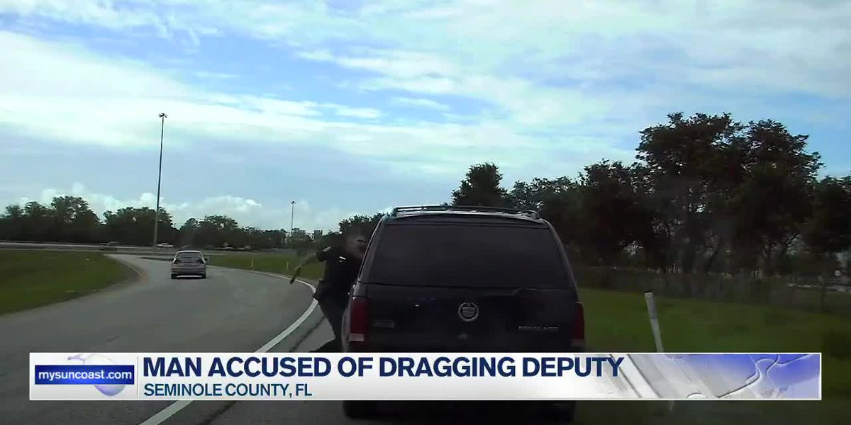 Deputies: Florida man accused of dragging deputy almost 100 yards with his car