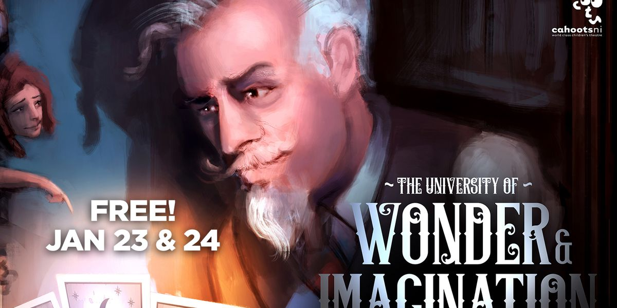 Van Wezel interactive and free performance for families: The University of Wonder & Imagination