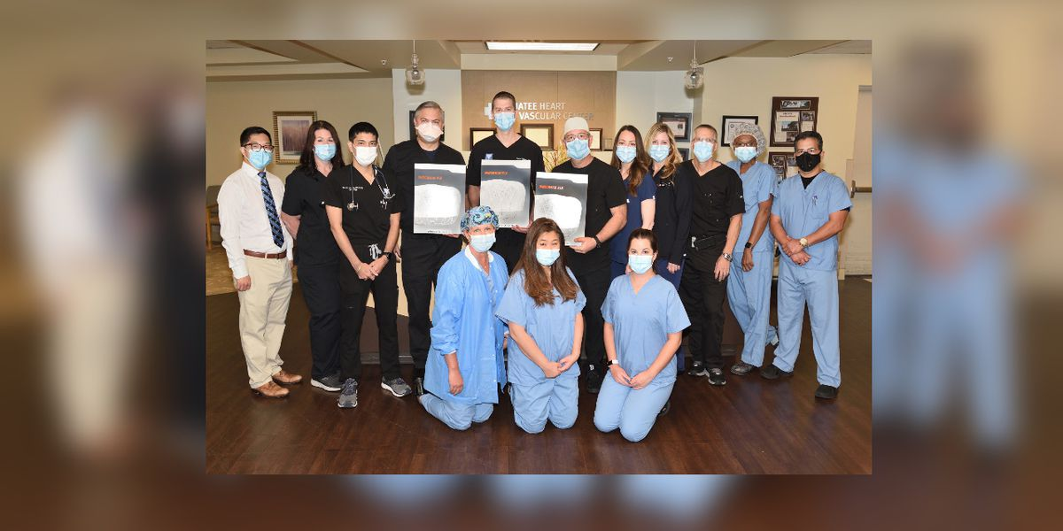Manatee Memorial becomes first hospital in the State of Florida to complete 500 Watchman FLX™ cardiac procedures