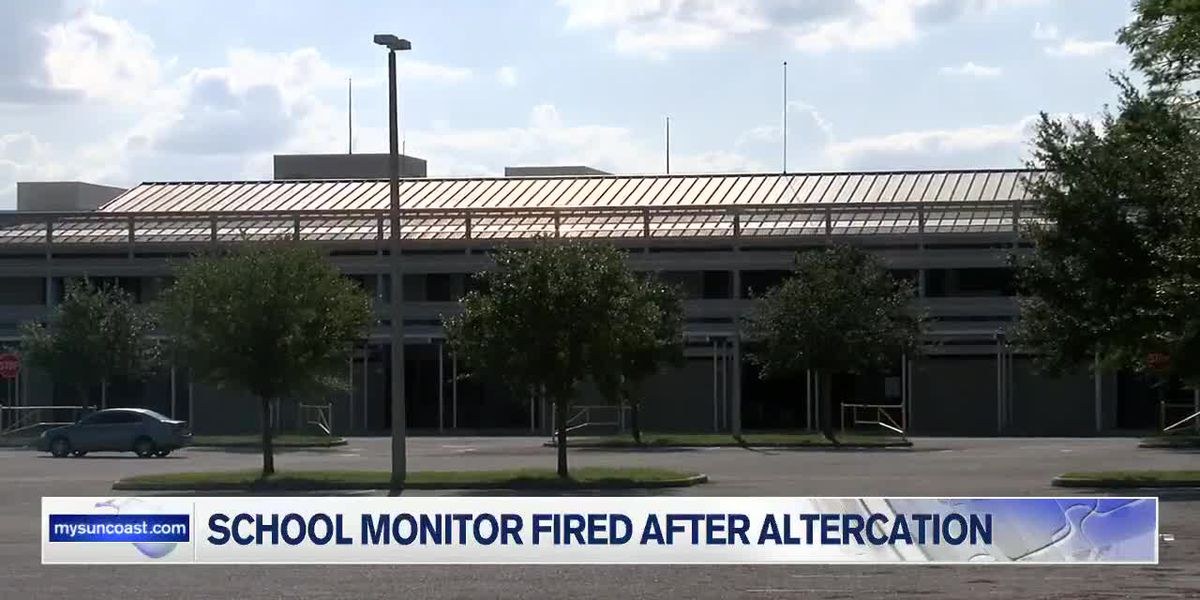 Sarasota School Monitor Fired