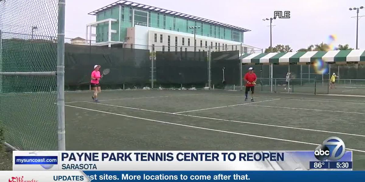 All City of Sarasota tennis courts to re-open Friday