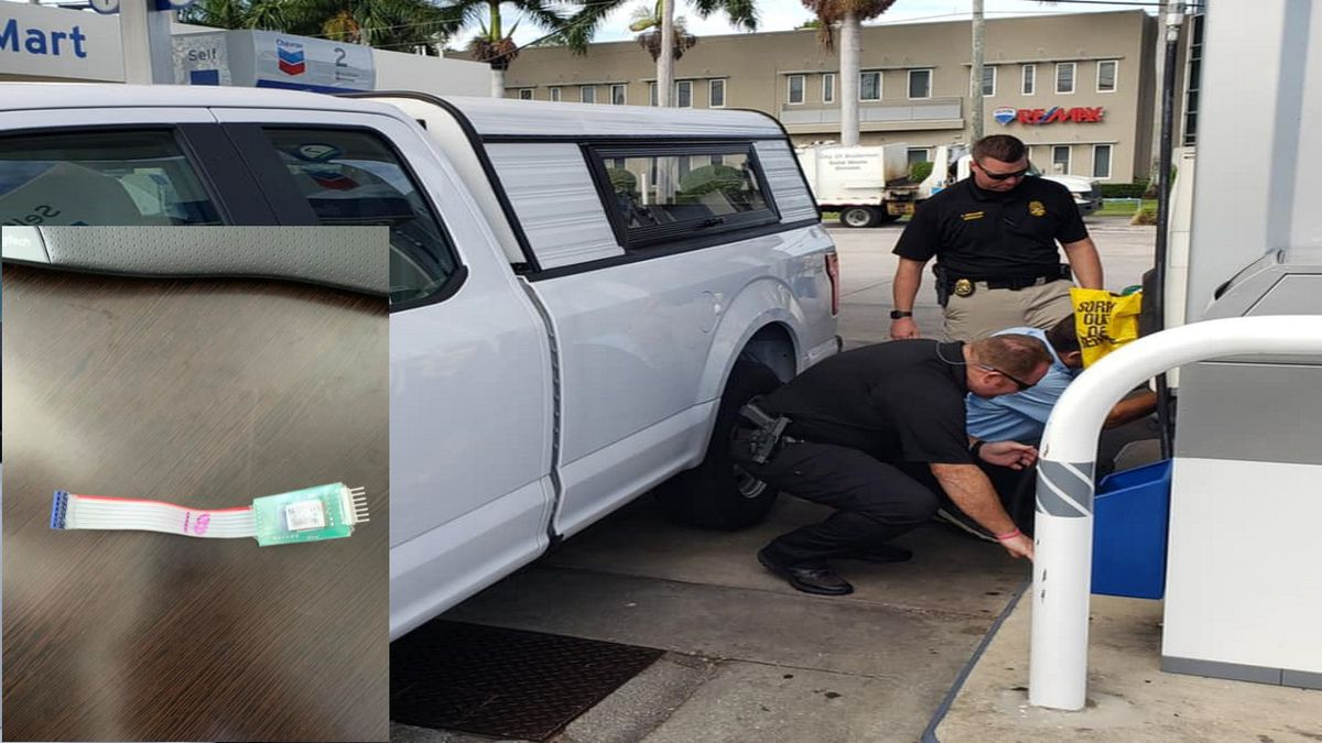 Police find three gas skimmers at two different gas stations in Bradenton