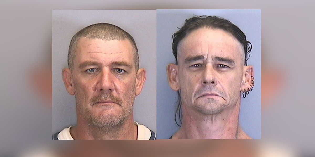 Two men arrested and charged with home invasion of a boat