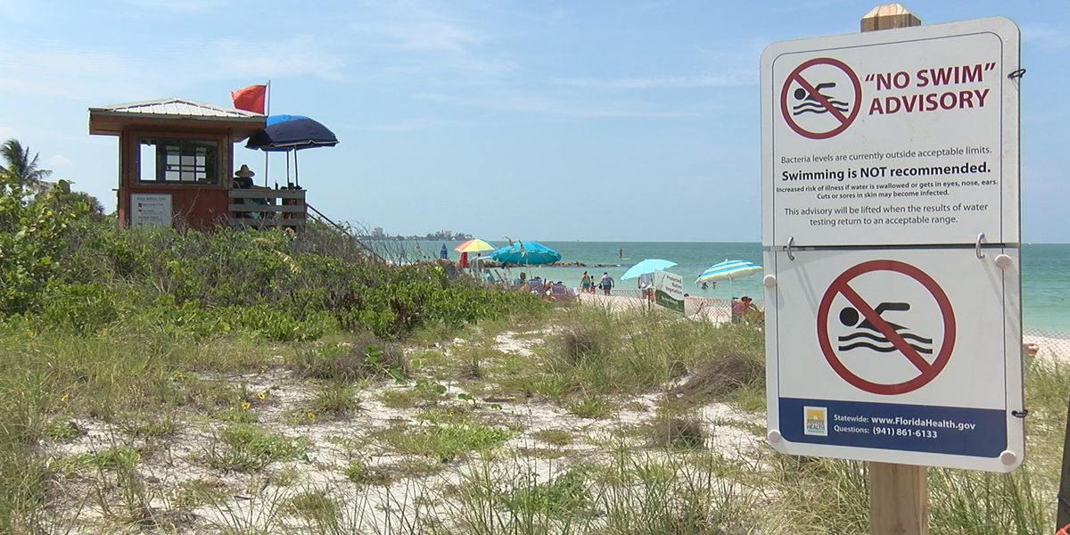 "Two of three ""no swim advisories"" lifted, but the Department of Health is still urging caution"