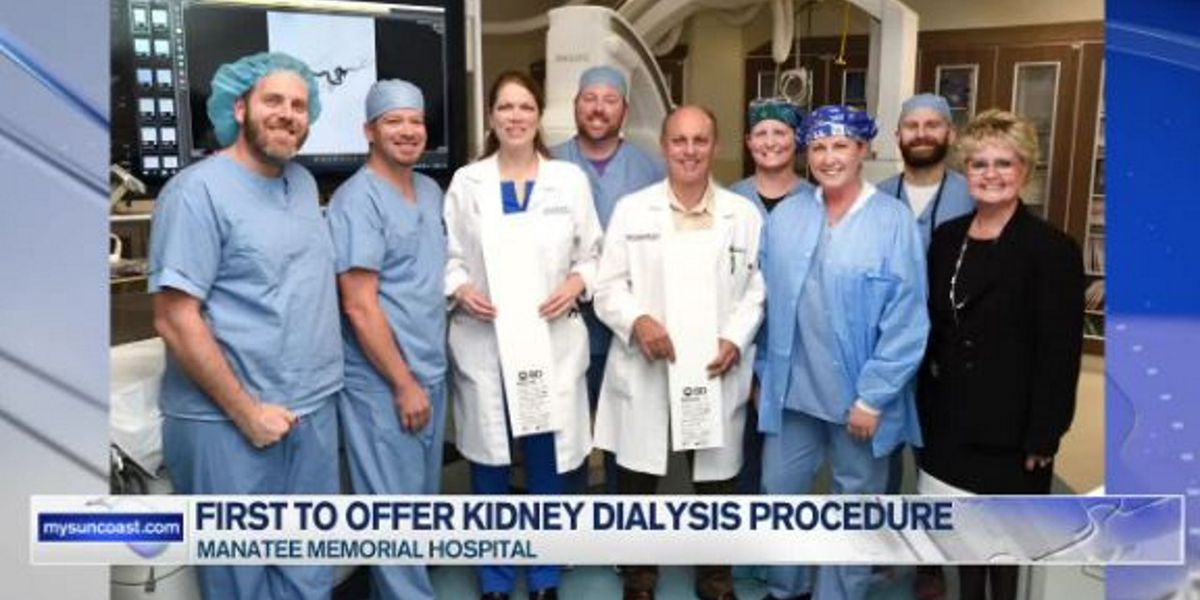 MMH set to become first west coast Florida hospital to offer new kidney dialysis procedure
