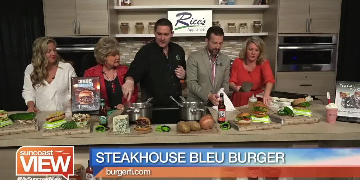 Steakhouse Burger Blue from BurgerFi | Suncoast View