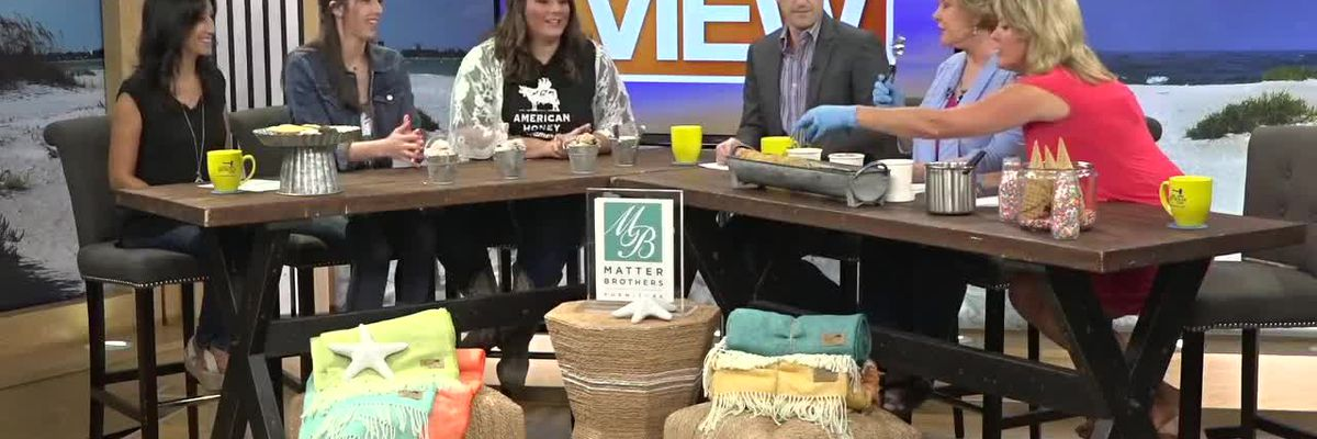 We Meet the Owners of American Honey Creamery and Make Our Own Dessert   Suncoast View