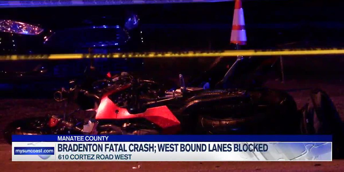 Motorcyclist killed in crash on Cortez Road in Bradenton