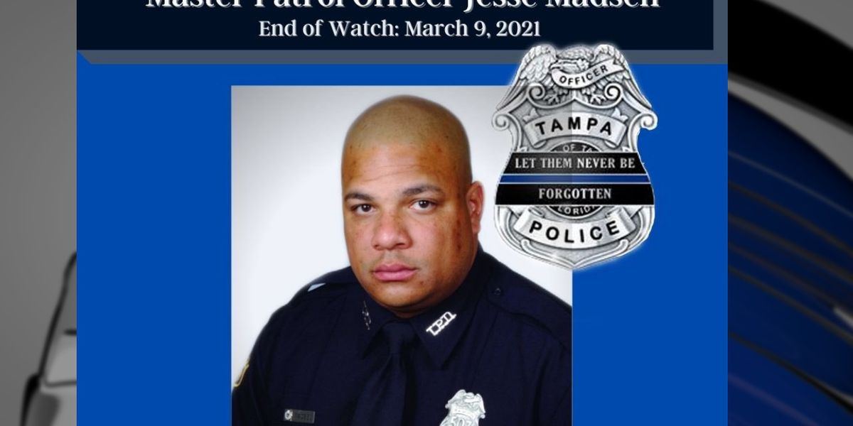 Decorated Tampa police officer killed by wrong-way driver