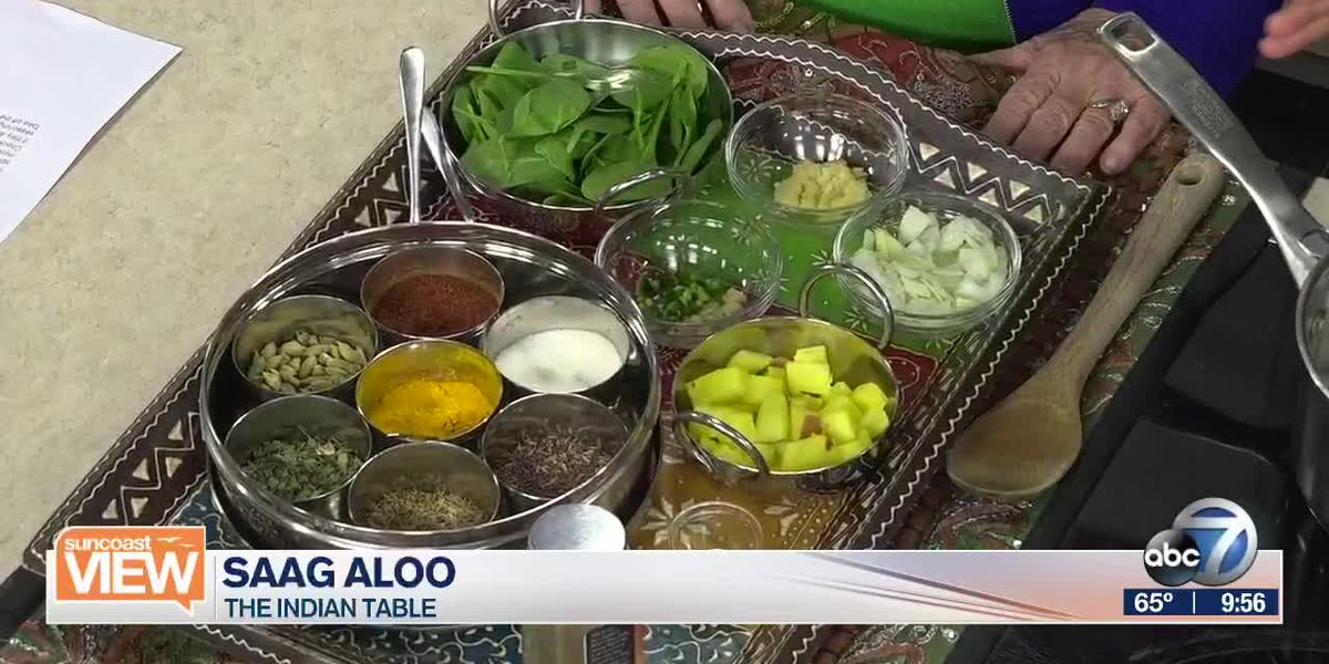 Saag Aloo with The Indian Table | Suncoast View