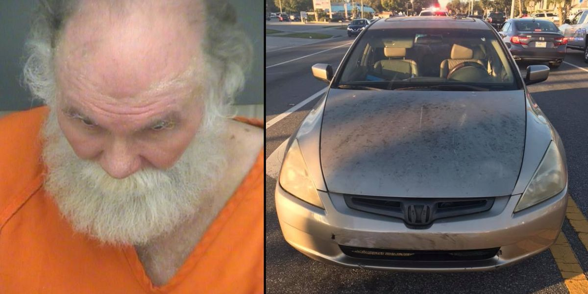 Police: Drivers block Florida man who hit school crossing guard