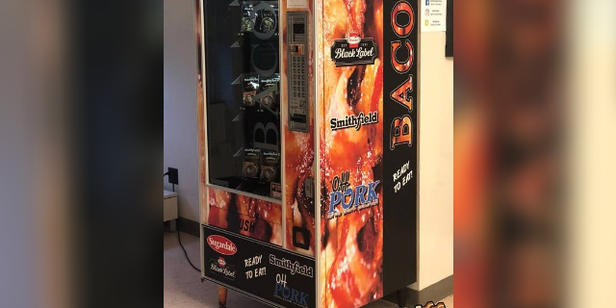 New bacon vending machine fuels Ohio State University students