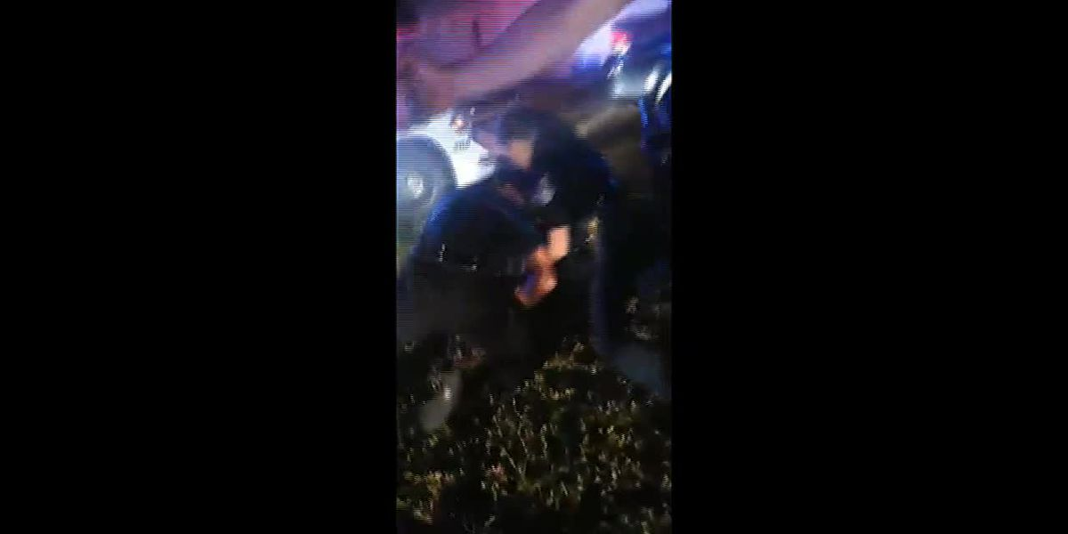 RAW VIDEO: Incident between police and man with mental disabilities
