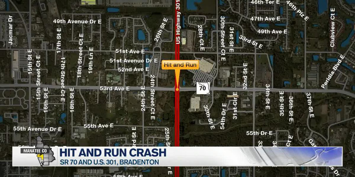 Police investigating hit-and-run in Manatee County that caused chain reaction crash