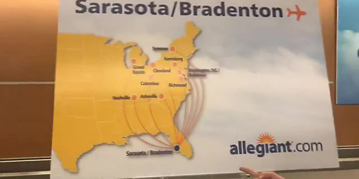 Allegiant Airlines offering nine new nonstop flights