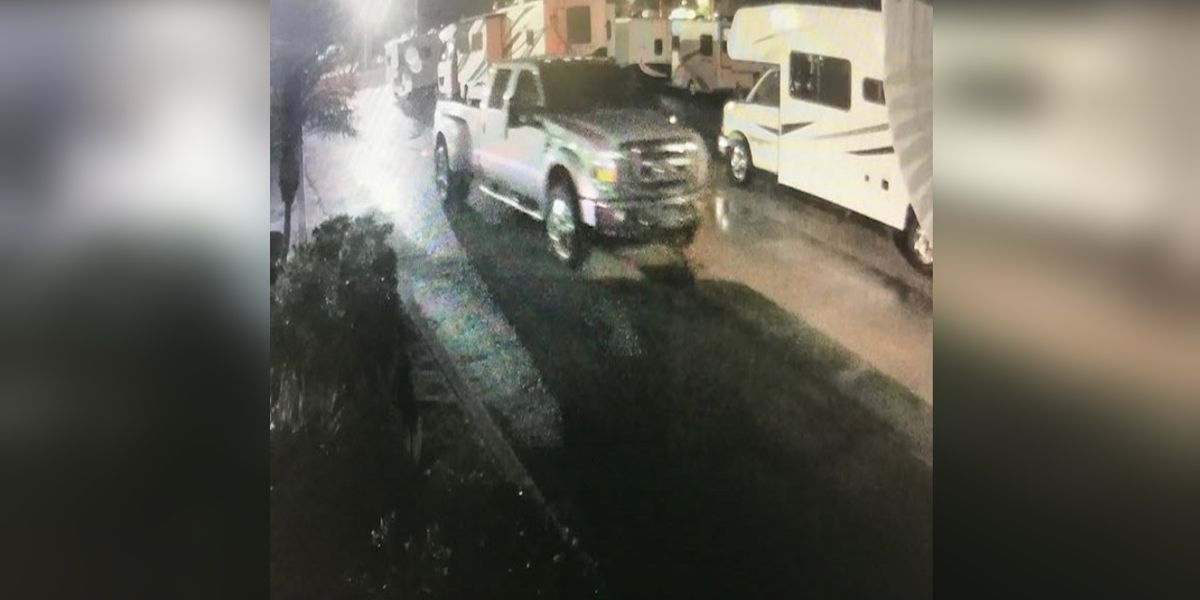 Deputies searching for suspect(s) responsible for grand theft and burglarizing RV trailers in Bradenton